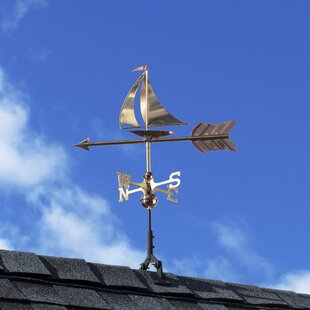 Sailboat Weathervane By Good Directions