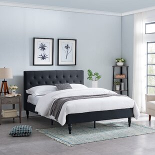 Emmy Queen Upholstered Panel Bed