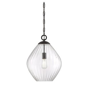 Gracie Oaks Jarious 1-Light Cone Pendant