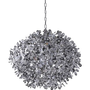 Everly Quinn Gailey 12-Light Globe Chandelier