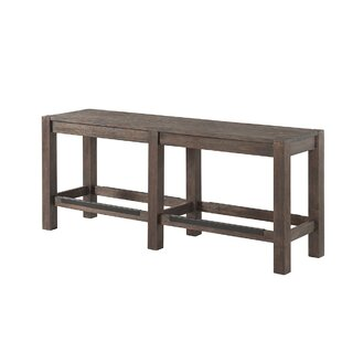 Gracie Oaks Benat Wood Bench