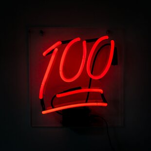100 Neon Wall Light By Wrought Studio