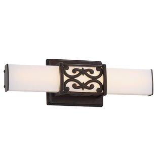 Buckman 1-Light LED Bath Bar by Fleur De Lis Living