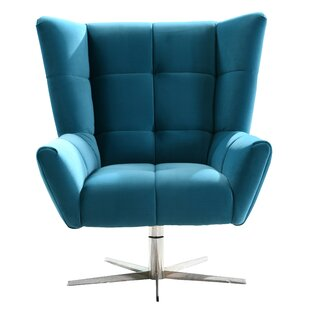 Doody Swivel Armchair by Orren Ellis