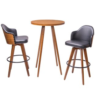 modern union rustic bar tables sets allmodern