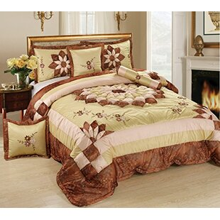 Tache Home Fashion 6 Piece Comforter Set