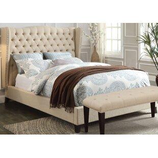 Canora Grey Mendez Upholstered Platform Bed