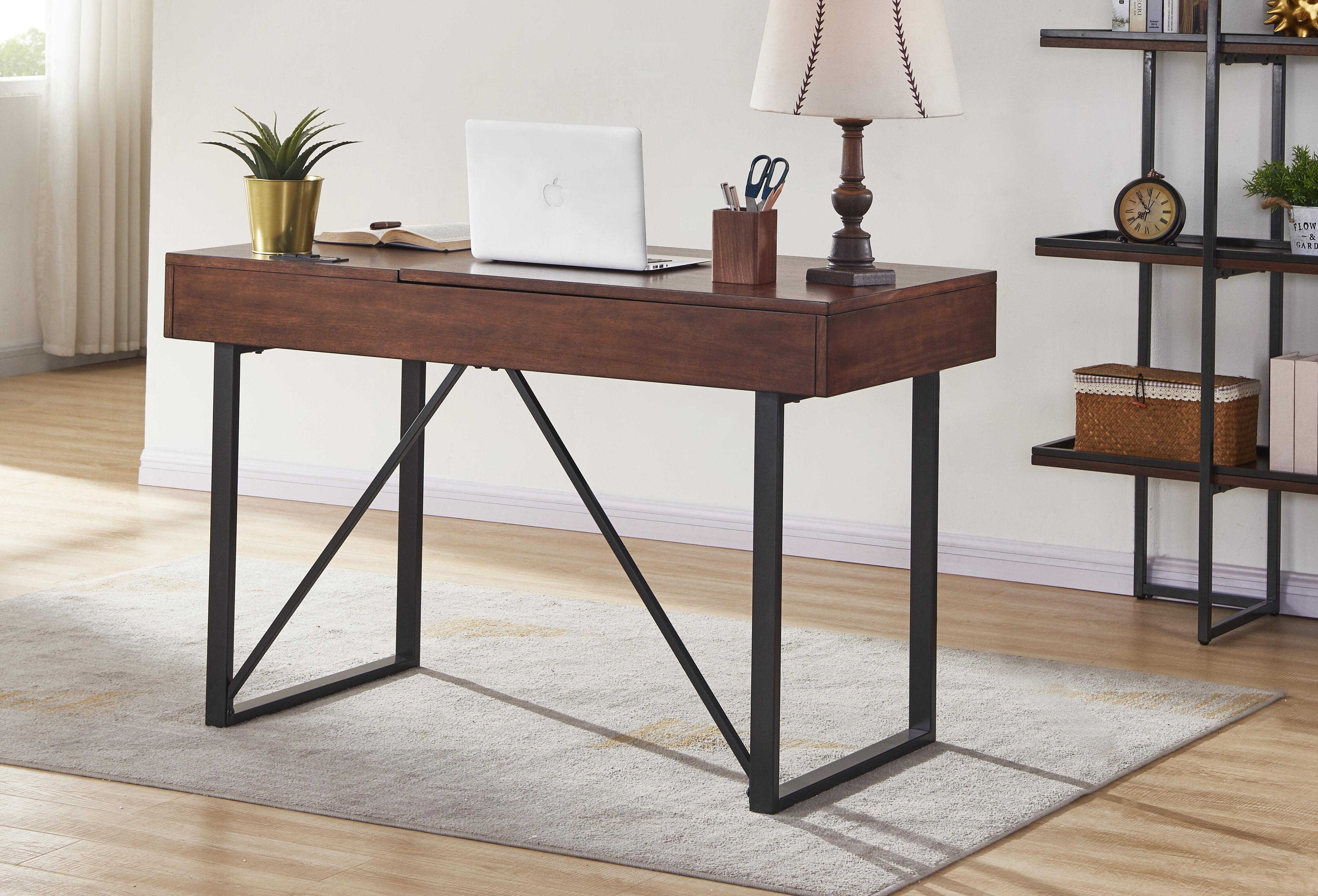 Latitude Run Gjallar Desk Reviews Wayfair
