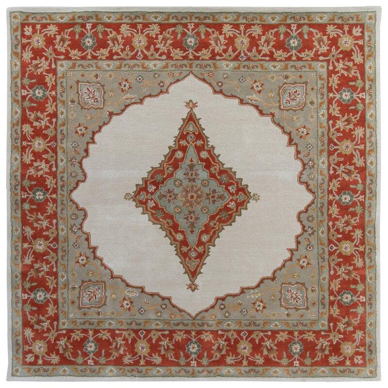 Osian Oriental Wool Rug 10x10  Item# 12079