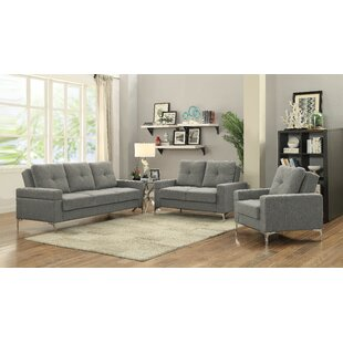 Orren Ellis Deven Configurable Living Room Set