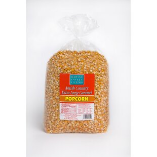 Extra Large Caramel Gourmet Popping Corn, 6 lb by Wabash Valley Farms