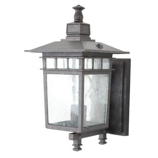 Great choice Lenhardt 1-Light Outdoor Sconce By Charlton Home
