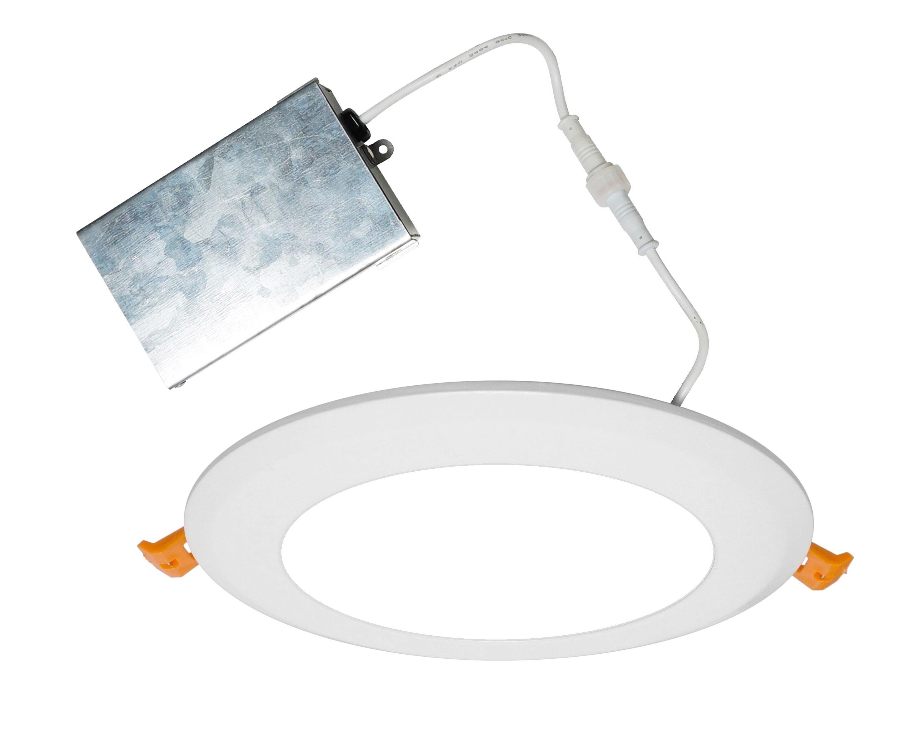 Nicor Lighting 6 Shower Recessed