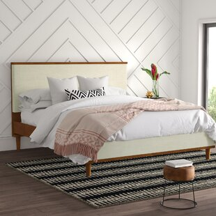 Everleigh Upholstered Platform Bed by Mercury Row