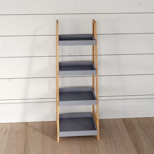 Review Landen 36 X 98cm Bathroom Shelves