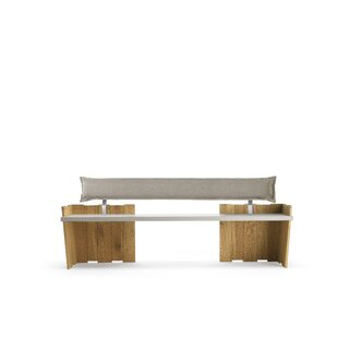 Crisalide Upholstered/Wood Bench by Conarte America