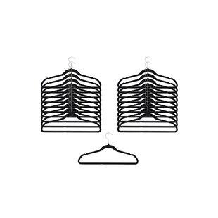 Read Reviews Felt Clothes Hanger (Set of 120) By NeatFreak