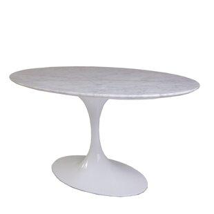 Orren Ellis Quickep Marble Coffee Table