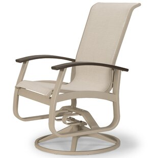Belle Isle Marine Grade Sling Hidden Motion Chat Patio Chair