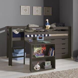 Ethridge European Single Mid Sleeper With Furniture Set By Zoomie Kids