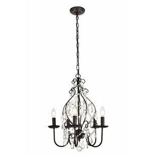 House of Hampton Archway 5-Light Chandelier