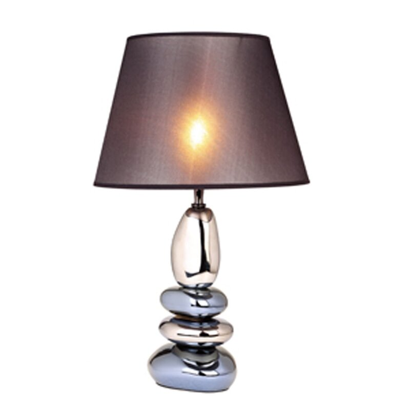 Aarush Stacked Stones Ceramic 22 4 Table Lamp