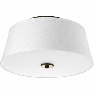 Bay City 2-Light Flush Mount