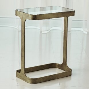 Saddle End Table