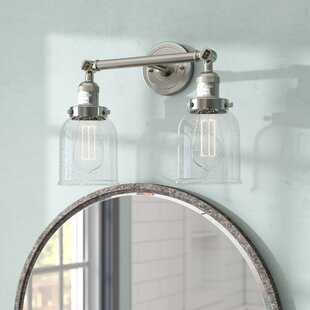 17 Stories Aloysia Bell 2-Light Vanity Light