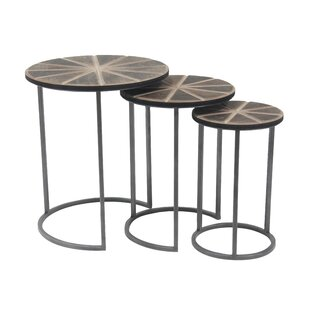 Crossett 3 Piece Nesting Tables