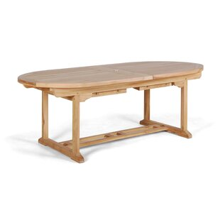 Ralon Extendable Teak Dining Table By Bay Isle Home
