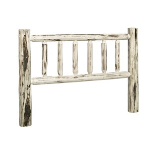 Abordale Log Slat Headboard by Loon Peak Purchase