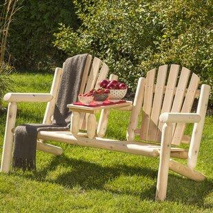 Smethwick Wood Tete-a-Tete Bench