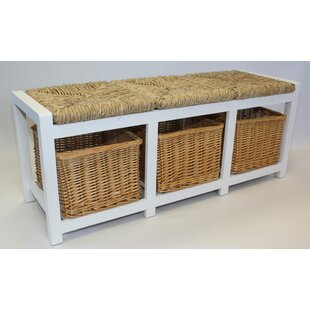 Cavendish Wicker Storage Bench