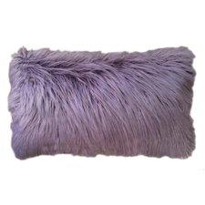 Susannah Faux Mongolian Lumbar Pillow