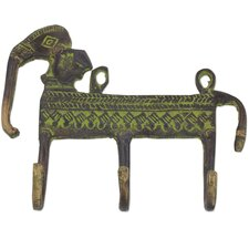 Helpful Elephant Coat Rack by Novica