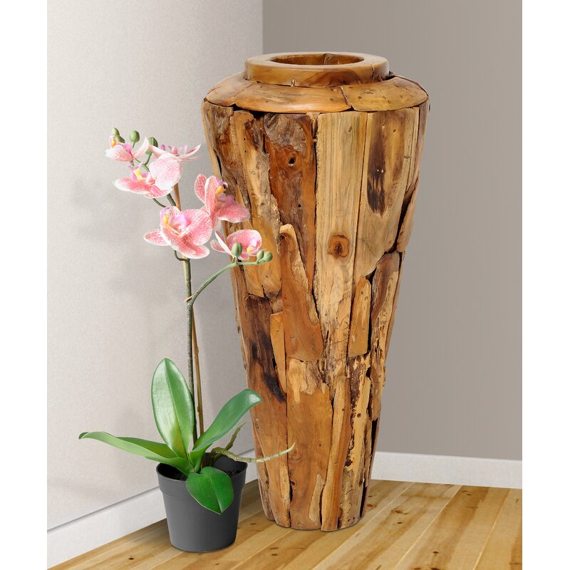 Brook Hollow Driftwood Floor Vase Birch Lane