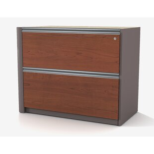 Orren Ellis Aurea 2-Drawer Oversized Pede..