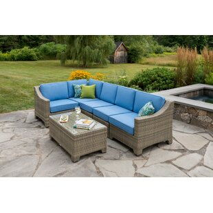 Madbury Road Jamaica 6 Piece Sectional Set with Cushions
