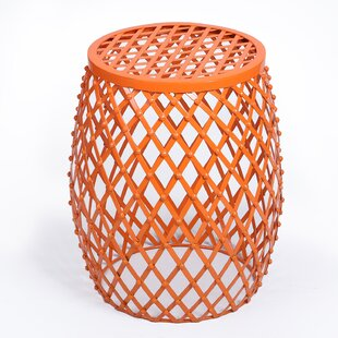 Ebern Designs Crutchfield Outdoor Metal Side Table