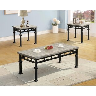 Wetzel 3 Piece Coffee Table Set by Gracie Oaks