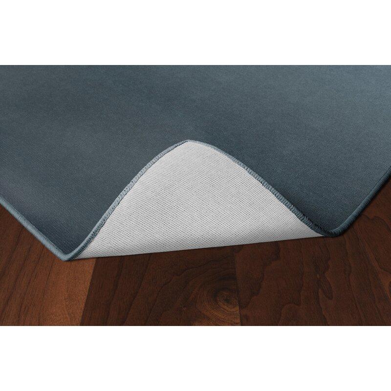 Orren Ellis Hohne Haze Gray Area Rug, Size: Rectangle 76 x 10, Backing Material: Woven Polypropylene