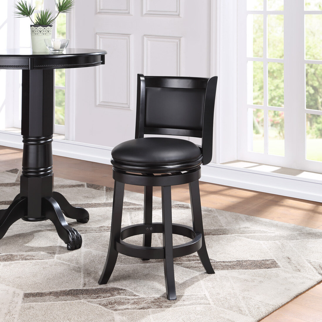 Counter 24 27 Full Back Bar Stools Counter Stools You Ll Love In 2021 Wayfair