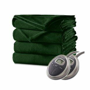 Velvet Plush Electric Heated Blanket