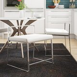 Gary Upholstered Slat Back Side Chair (Set of 2) by Wade Logan®
