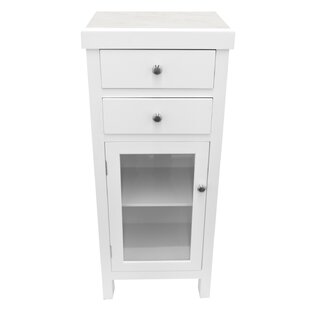 Brookdale Wood 2 Drawer Accent Cabinet by Rosecliff Heights