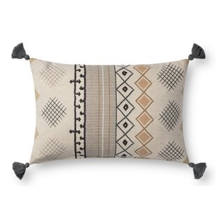 Elamin Cotton Lumbar Pillow