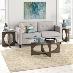 Chenley 3 Piece Coffee Table Set