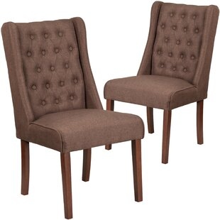 Orland Tufted Parsons Dining Chair (Set o..
