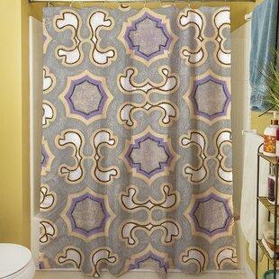 Plum Scene I Shower Curtain